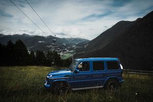 Mercedes Benz G Class Side View Wallpaper
