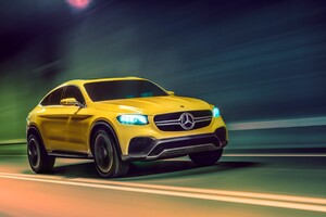 Mercedes Benz GLC Coupe Concept Wallpaper