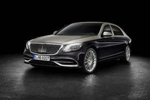 Mercedes Benz Maybach S 560 2018 Front