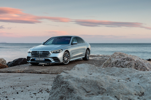 Mercedes Benz S 350 D AMG Line 2021 Wallpaper