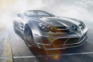 Mercedes Benz SLR McLaren Roadster Wallpaper