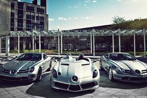 Mercedes Benz Super Cars
