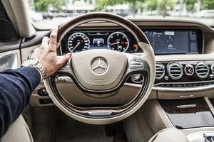 Mercedes Car Steering