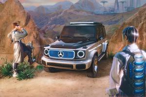 Mercedes Eq Concept 5k Wallpaper