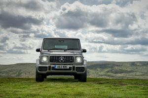 Mercedes G 63 2018 Front View Wallpaper
