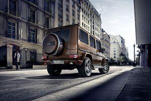 Mercedes G Wagon Rear Wallpaper