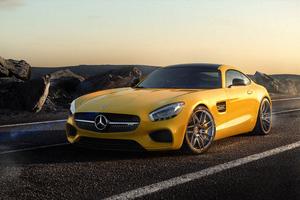 Mercedes Gt 4k Wallpaper