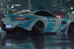 Mercedes Gt Rear