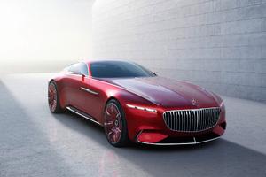 Mercedes Maybach Vision 6 Concept