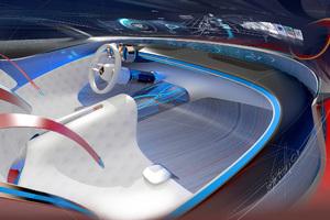 Mercedes Maybach Vision 6 Interior