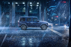 Mercedes New G Wagon Wallpaper