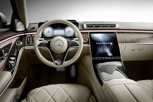 Mercedes S Class Maybach Interior 5k Wallpaper