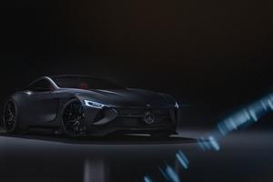 Mercedes SLR 4k