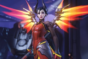 Mercy Devil Overwatch