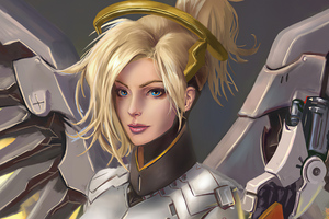 Mercy Overwatch 2 Artwork 4k Wallpaper