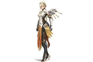 Mercy Overwatch 2 Wallpaper