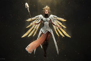 Mercy Overwatch Art Hd