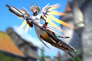 Mercy Overwatch Artwork 4