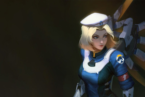 Mercy Overwatch Artwork 5