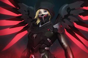 Mercy Overwatch Blackwatch 5k Wallpaper