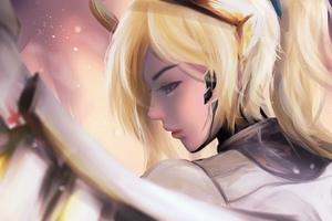 Mercy Overwatch Digital Art