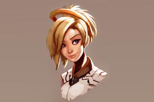 Mercy Overwatch Fan Art Hd