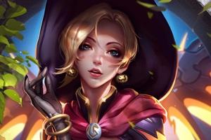Mercy Overwatch Fantasy 5k