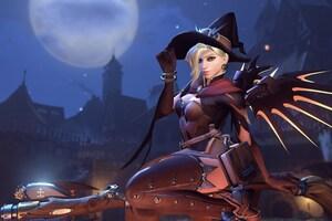 Mercy Overwatch Halloween