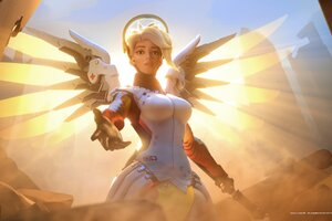 Mercy Overwatch Wallpaper