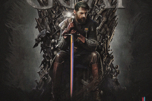 Messi Game Of Thrones Wallpaper