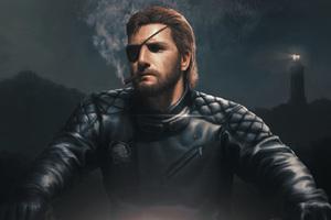 Metal Gear Solid V The Phantom Pain Fan Art