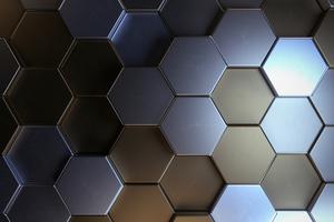 Metal Polygon Shapes 5k Wallpaper