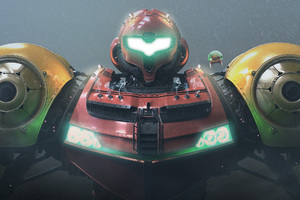 Metroid Pacific Rim Robot