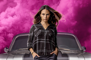 Mia In Fast And Furious 9 2020 Movie Wallpaper