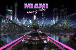 Miami Racing Vibes Wallpaper