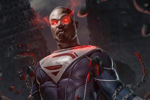 Michael B Jordan As Superman Wallpaper