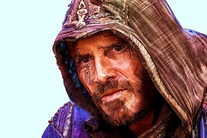 Michael Fassbender Assassins Creed Artwork