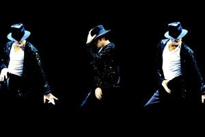 Michael Jackson Doing Dance