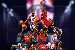 Michael Jordan Art Wallpaper