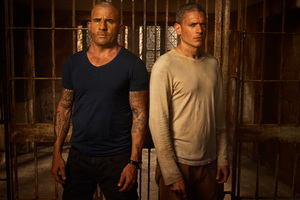 Michael Scofield And Lincoln Burrows In Prison Break Season 5 4k Wallpaper