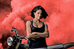 Michelle Rodriguez As Letty In Fast 9 8k