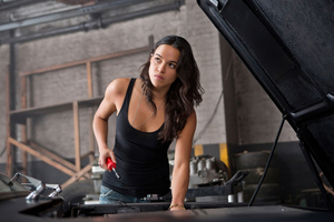 Michelle Rodriguez In Fast And Furious 6 Wallpaper