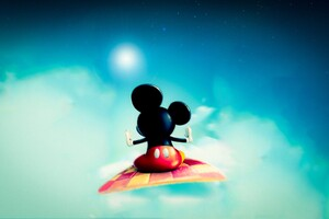 Mickey Mouse Carpet Wallpaper