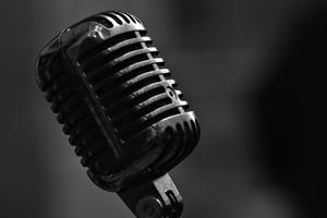 Microphone Metal Wallpaper