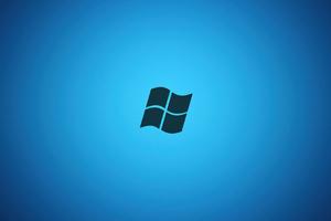 Microsoft Logo Minimal 4k Wallpaper