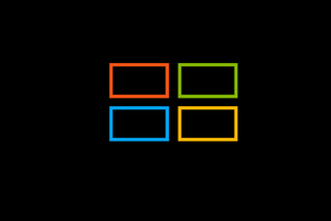 Microsoft Windows Logo Square Wallpaper