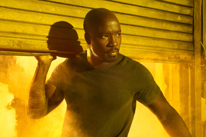 Mike Colter As Luke Cage Wallpaper