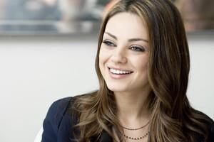 Mila Kunis Cute Smiling