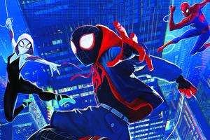 Miles Gwen Spiderman