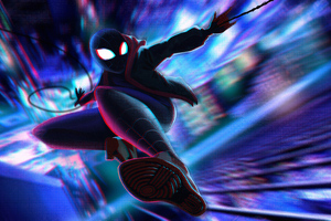 Miles Morales 4k Newart 2019 Wallpaper